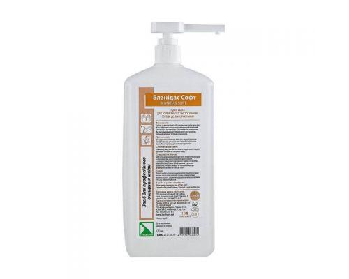 Мыло жидкое Бланидас софт с дозатором 1л