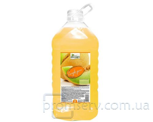 Мыло жидкое сладкая дыня, ПЭТ (5л), Ecolan