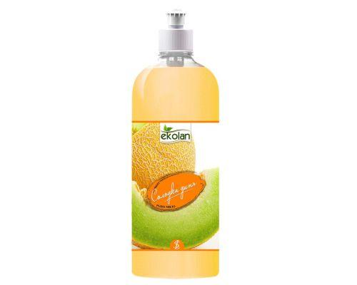 Мыло жидкое сладкая дыня, пуш-пул (1л), Ecolan