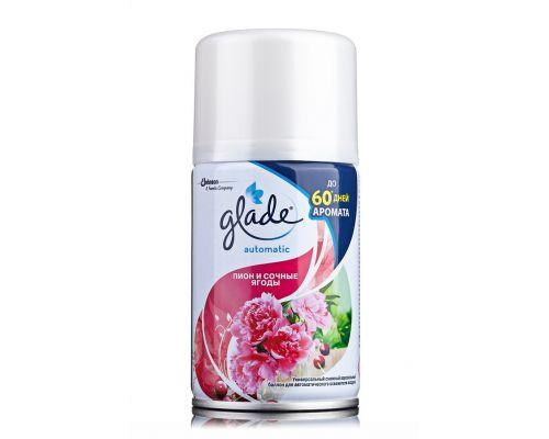 Освежитель воздуха запаска Пион и сочные ягоды (269мл), Glade 317583