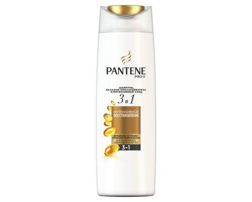 Шампунь для волос 3в1 Интенсивное восстановление (360мл), Pantene
