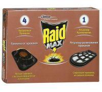 Средство от летающих и ползающих насекомых (4шт), Raid Max 636828