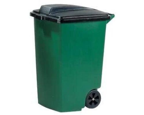 Бак мусорный на колесах с крышкой пластик (100л), CUR 5183