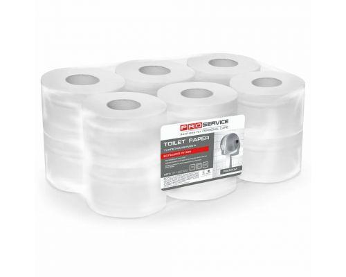 Бумага туалетная белая с краевым тиснением 2-х сл., 120м (12рул/уп), PROservice Premium