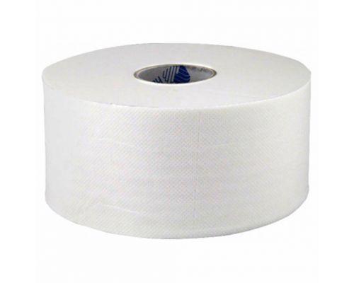 Бумага туалетная Джамбо белая с центр. вытяж. для диспенсера 120м (12шт/уп), Selpak Pro Premium
