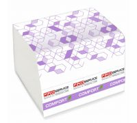 Бумага туалетная листовая белая 2-х сл., (250л/уп),PROservice Comfort eco