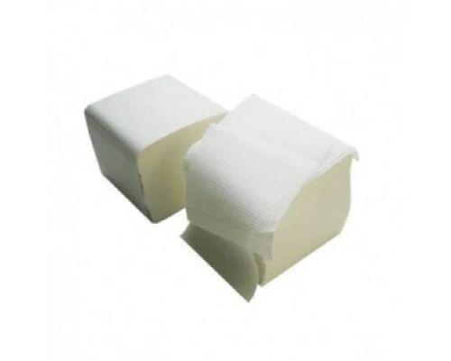 Бумага туалетная листовая V, белая с ламинацией 2-х сл., 10,5*20см (200л), Luxe