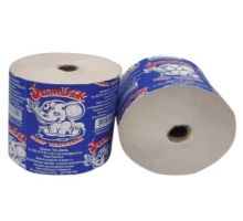 Бумага туалетная макулатурная на гильзе 95/90