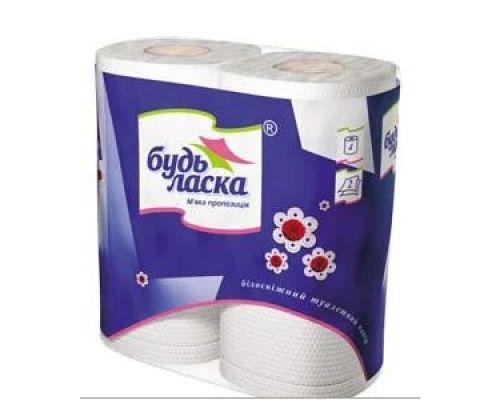 Бумага туалетная макулатурная с перфорацией и тиснением 200 отрывов (4рул/уп), 90*102
