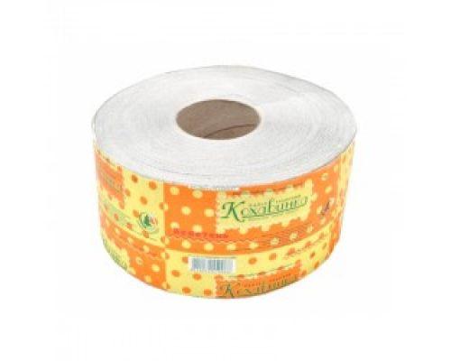 Бумага туалетная макулатурная Великан, джамбо серая (90*190/60), Кохавинка