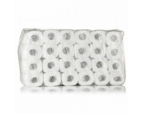 Бумага туалетная рулон. белая 2-х сл., 9м (48рул/уп), PROservice Standard