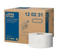 Бумага туалетная рулон. мягкая Advanced T2, 2-х сл., 170м, Tork 120231