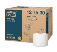 Бумага туалетная рулон. мягкая Advanced T6, 2-х сл., 100м, Tork 127530