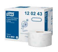 Бумага туалетная рулон. супер мягкая Premium T2, 2-х сл., 170м, Tork 120243