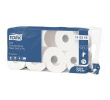 Бумага туалетная рулон. ультрамягкая Premium T4, белая 3-х сл., 29,5м, Tork 110316