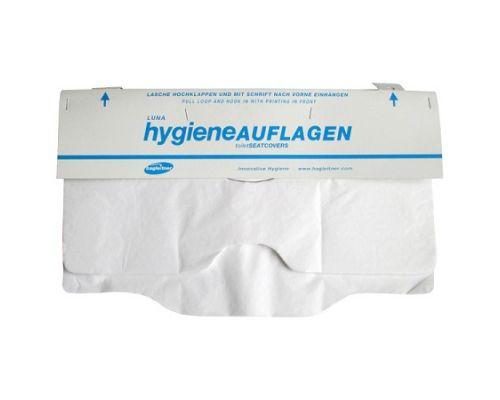 Накладки на унитаз 1/2 100шт белые HAG-110800100