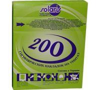 Накладки на унитаз 1/4 (200шт) белые, Украина