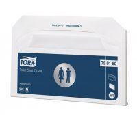 Накладки на унитаз Advanced V1 (250шт) белые, Tork 750160