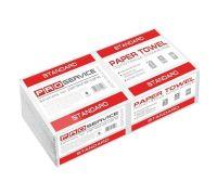 Полотенца бумажные V, белые 1-но сл., (200шт/уп), PROservice Standard