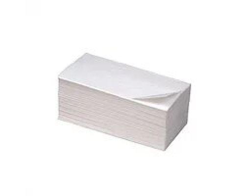 Полотенца бумажные V, белые с ламинацией 2-х сл., 21*20см (150л), Luxe