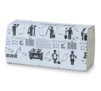 Полотенца бумажные, V(серые), 1 сл., 160 л., 230/240