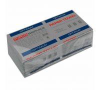 Полотенца бумажные V, серые, (160шт/уп), OPTIMUM