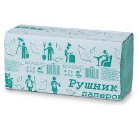 Полотенца бумажные, V(зеленые), 1 сл., 160 л., 230/240