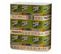Полотенца бумажные Z, серые 1-но сл., (250шт/уп), Selpak Pro Essential