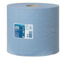 Бумага протирочная рулон. Advanced W1,W2, 2-х сл., голубая (225м), Tork 130052