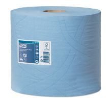 Бумага протирочная рулон. суперпрочная Advanced W1,W2, голубая 3-х сл. (119м), Tork 130081
