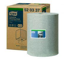 Материал нетканый рулон. для удаления масла и жира W1,W2,W3 серый (148м), Tork 520337