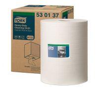 Материал нетканый рулон. суперпрочный W1,W2,W3 белый (106,4м), Tork 530137