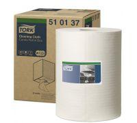 Материал нетканый универсальный W1,W2 белый (152м), Tork 510137