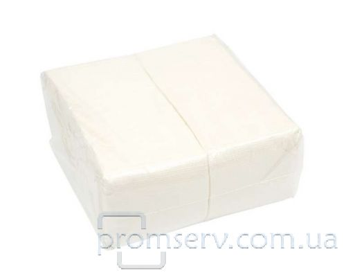 Салфетки барные, белые (500л), 22х22см, 1-но сл.