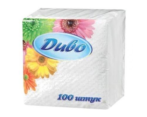 Салфетки бумажные барные белые 100шт ДИВО