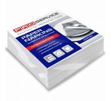 Салфетки бумажные белые 1/8 1 слой 33*33см 100шт PROservice Comfort
