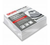 Салфетки бумажные белые 1/8 слож., 2-х сл., 33*33см (50шт/уп), PROservice Premium