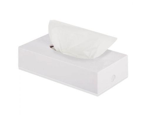 Салфетки бумажные для диспенсера белые с краевым тиснением, 2-х сл., 14*20см (300л)