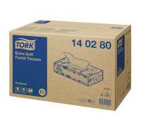 Салфетки бумажные для лица супер-мягкие Premium F1, 2-х сл., 100л, Tork 140280