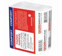 Салфетки бумажные Z, белые (250шт/уп), PROservice Comfort