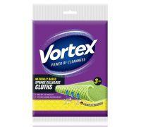 Салфетка целлюлозная универсальная губчатая 20*18см (3шт), Vortex