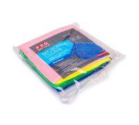 Салфетка микрофибра для стекл PURE GLASS микс 30*30см (4шт), PROservice
