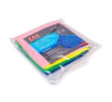 Салфетка микрофибра для стекла PURE GLASS микс 30*30см 4шт PROservice