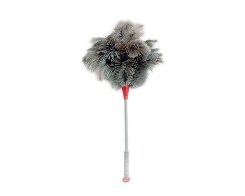 Метелка для уборки пыли из страусиных перьев 45см VDM 4037