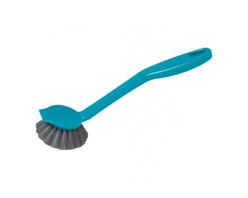 Щетка для посуды с ручкой мини пластик, York 0822