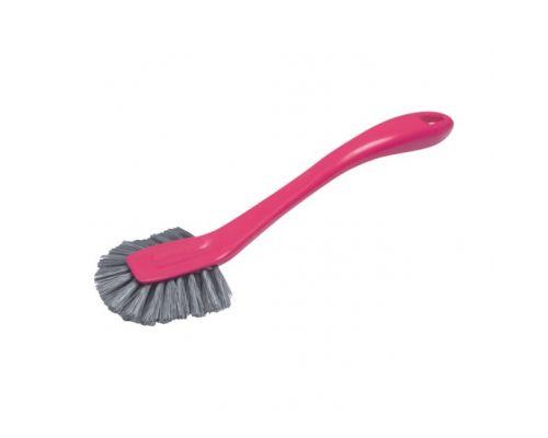 Щетка для посуды с ручкой SZWEDKA пластик, York 3885