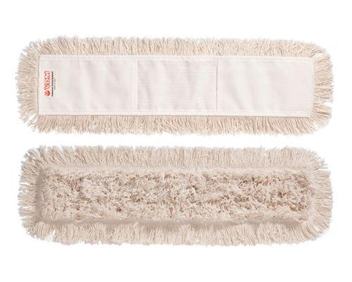 Моп плоский для швабры с карманами х/б 80см VDM 4133