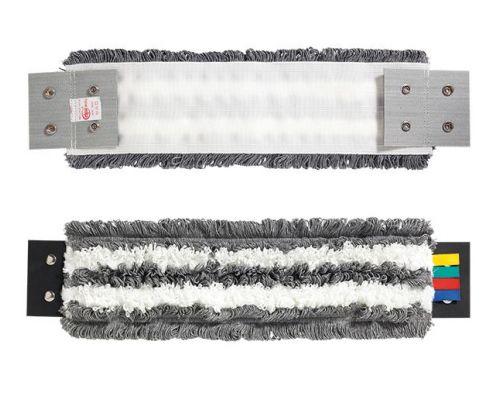 Моп плоский для швабры с кнопками с микрофиброй 45см VDM 3504