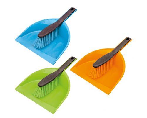 Комплект для уборки КЛИПС CENTI пластик совок + щетка York 6203