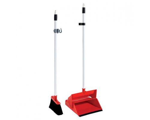 Комплект для уборки совок + веник VDM 4040